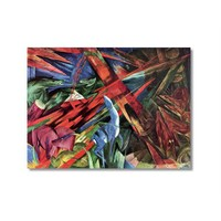 Tictac Hayvanlar Kanvas Tablo - 40X60 Cm