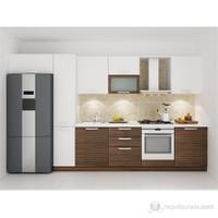 Kenyap 126001 Highgloss PVC Kapaklı Mutfak 360 cm