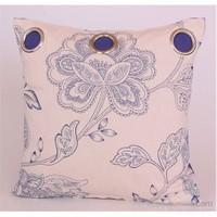 Yastıkminder Koton Mavi Kum Kuş Gözü Yastık