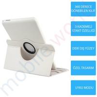 Mobile World Samsung Galaxy T230 360 Derece Dönebilen Beyaz Tablet Kılıfı