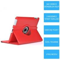 Mobile World iPad Mini 2 360 Derece Dönebilen Kırmızı Tablet Kılıfı