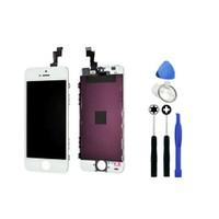 TelePlus İphone 5S Dokunmatik Lcd Ekran Beyaz + Sökme Aparatı