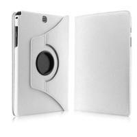 """Case 4U Samsung Galaxy Tab S2 T815 9.7"""" 360° Dönebilen Beyaz Standlı Tablet Kılıfı"""