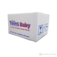 Twins Baby Yenidoğan Islatılabilir %100 Pamuk Mendil 24 lü Ekonomik Paket