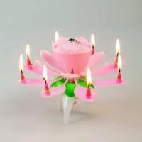 Kendinden Açılan Müzikli Sihirli Pasta Mumu