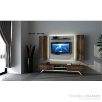 Hayal 124469 Tv Ünitesi Leon Ceviz/Parlak Beyaz