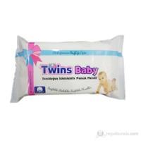 Twins Baby Yenidoğan Islatılabilir %100 Pamuk Mendil