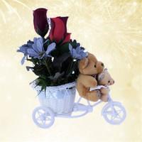 Anneye Sepet Dolusu Hediye Çiçek