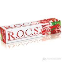 Rocs Kids Yaban Çileği Tadında Diş Macunu (8-18 yaş)