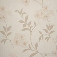 Çiçek Kum Beji Vinyl Duvar