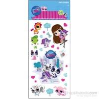 Artikel Puffy Sticker Minişler MN-003
