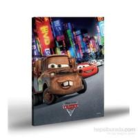 Artikel Kanvas Tablo Lisanslı Cars-2 50x70 cm