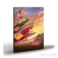 Artikel Kanvas Tablo Lisanslı Planes-1 50x70 cm