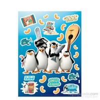 Dream Works Madagaskar Penguenleri Duvar Sticker 68X48 Cm DW-014