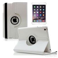 Case 4U iPad Mini 360° Dönebilen Beyaz Kılıf