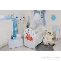 Agashi Teddy Bear Modüler Bebek Beşiği