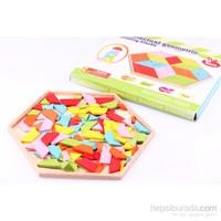 Wooden Toys Geometrik Ahşap Zeka Oyunu