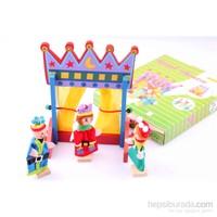 Wooden Toys Ahşap Tiyatro Kukla Seti