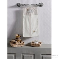 Kidboo Honey Bear Linen Çamaşır Torbası
