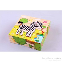 Learning Toys Wooden Puzzle Cubes
