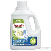 Friendly Organic Hassas Ciltler İçin Çamaşır Deterjanı Kokusuz 1,48 l / 53 yıkama