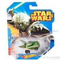 Mattel Hot Wheels Karakter Arabalar Star Wars Özel Serisi - Yoda