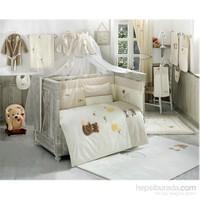 Kidboo Honey Bear Linen Cibinlik Tül