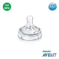 Philips Avent SCF653/27 Natural 2'li Biberon Emziği ( 3m+) / 3 Delik