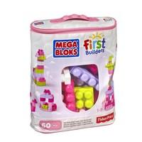 Mega Bloks 60Lı Blok Torbaları (Pembe)