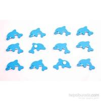 Wooden Toys 12'li Ahşap Süsleme Sticker