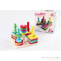 Wooden Toys 5'li Geometrik Zeka Seti