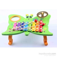 Learning Toys Butterfly Knock On The Piano 3 in 1