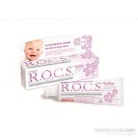 Rocs Baby 0-3 Yaş Ihlamur Özlü Diş Macunu