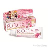 Rocs Kids 3-7 Floridsiz Diş Macunu - Gül Tadında
