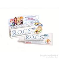 Rocs Kids 3-7 Floridsiz Diş Macunu - Meyve Külahı