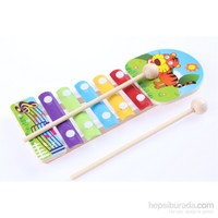 Wooden Toys Animal Knock Xylophone