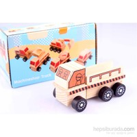 Wooden Toys Wooden Machineshop Truck