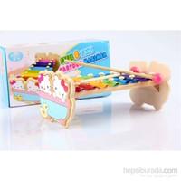 Wooden Toys Cartoon Marimba Xylophone