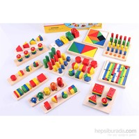 Learning Toys Wooden Teaching Aid Combination
