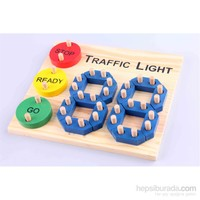 Learning Toys Traffic Light Wooden Puzzle
