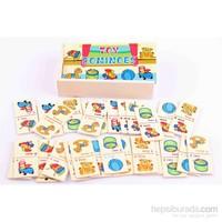 Learning Toys Ahşap Domino Seti