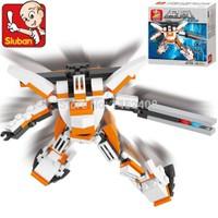 Sluban Kutulu Blok Dönüşen Robot 79 Parça