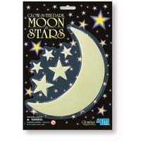 4M Parlayan Ay ( Küçük ) Ve Yıldızlar