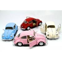 Vardem 1967 Volkswagen Classical Beetle 1:32 Çek Bırak Arabalar