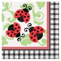 Balon Lively Ladybugs Kağıt Peçete 33X33 Cm (16 Ad)