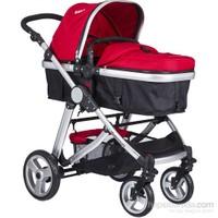 Kanz KZ-4009 Fernanda Seyahat Sistem Bebek Arabası / Kırmızı