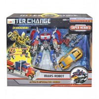 Beren Transformers Optimus Prime Arabaya Dönüşen Robot