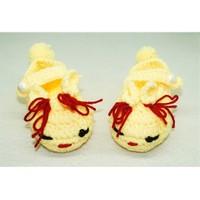 Cadının Dükkanı Sarı Tavşan Bebek Patik