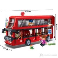 Banbao Çift Katlı Otobüs 8769 (412 Parça)