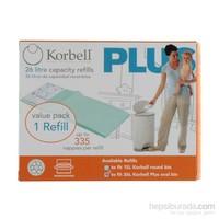 Korbell Plus 335 Adet Bez Kapasiteli Çöp Poşeti